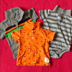 Bundle of three 12 month collared shirts
